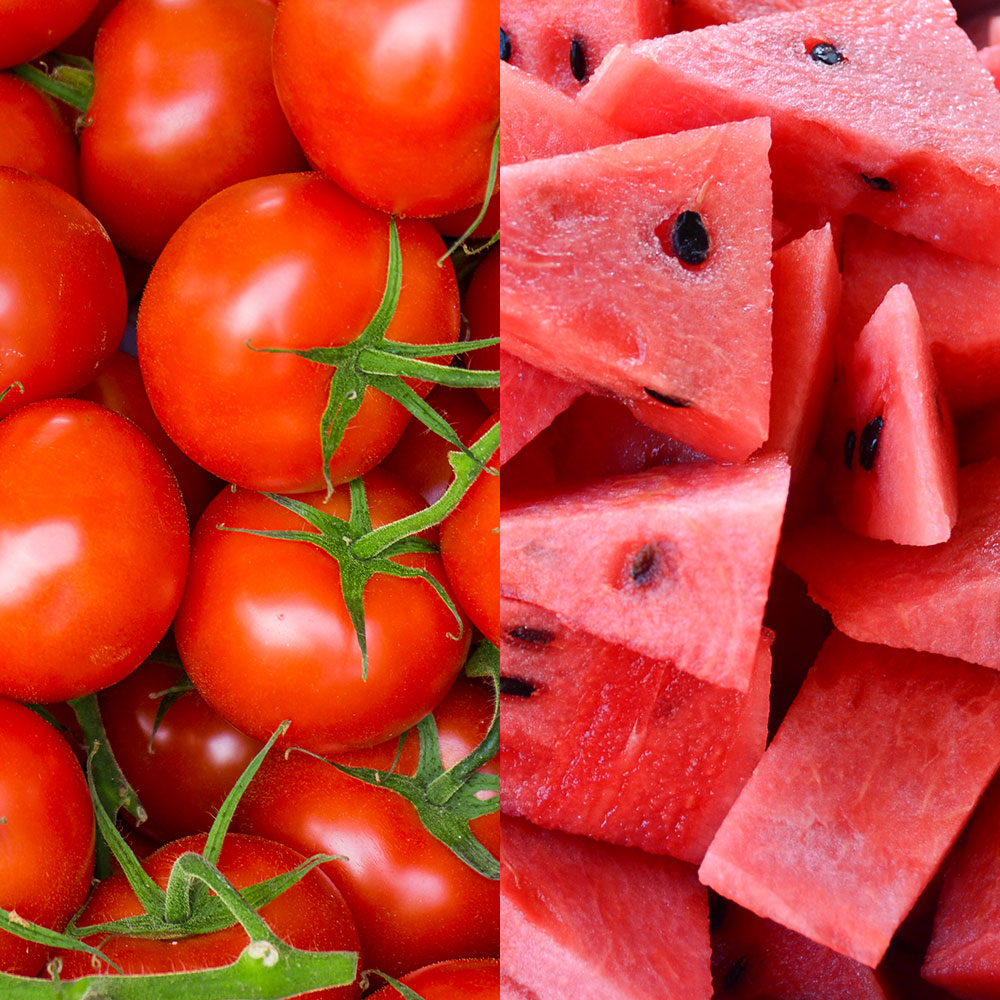 watermelons and tomatoes anti aging foods