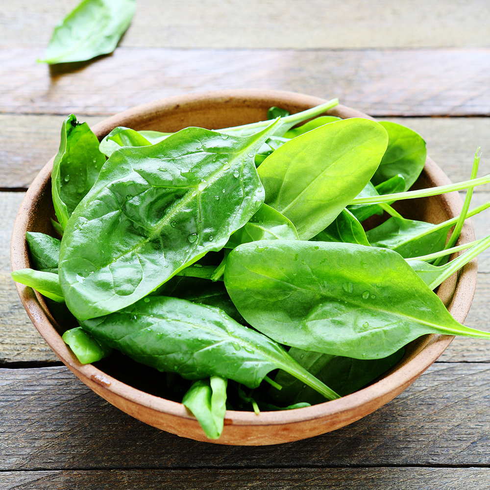 spinach healthy food for skin and hair