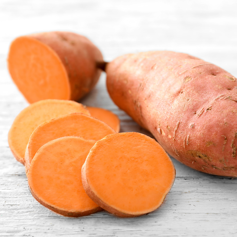 sweet potatoes for healthy skin and hair