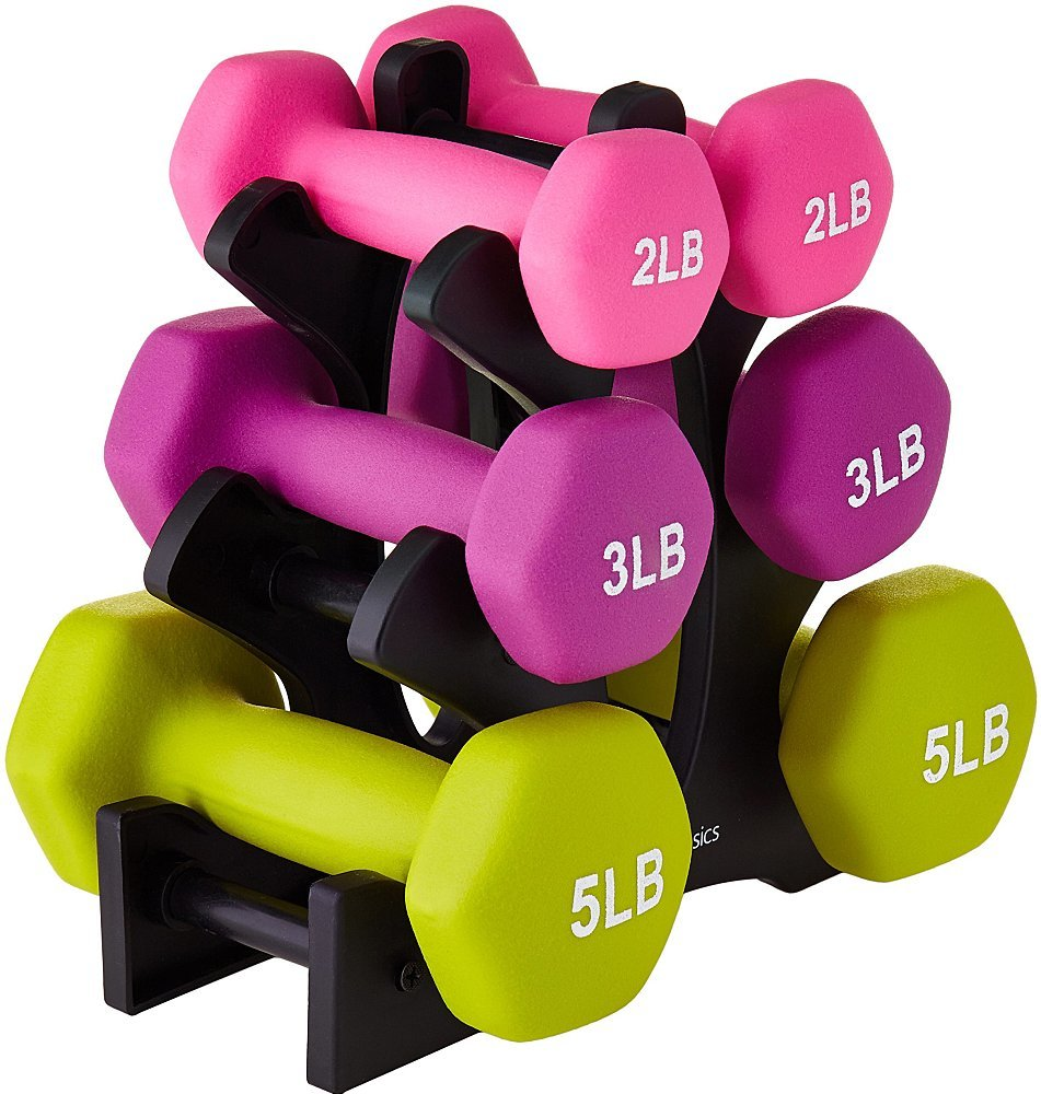 amazon basic dumbbells prime day deal
