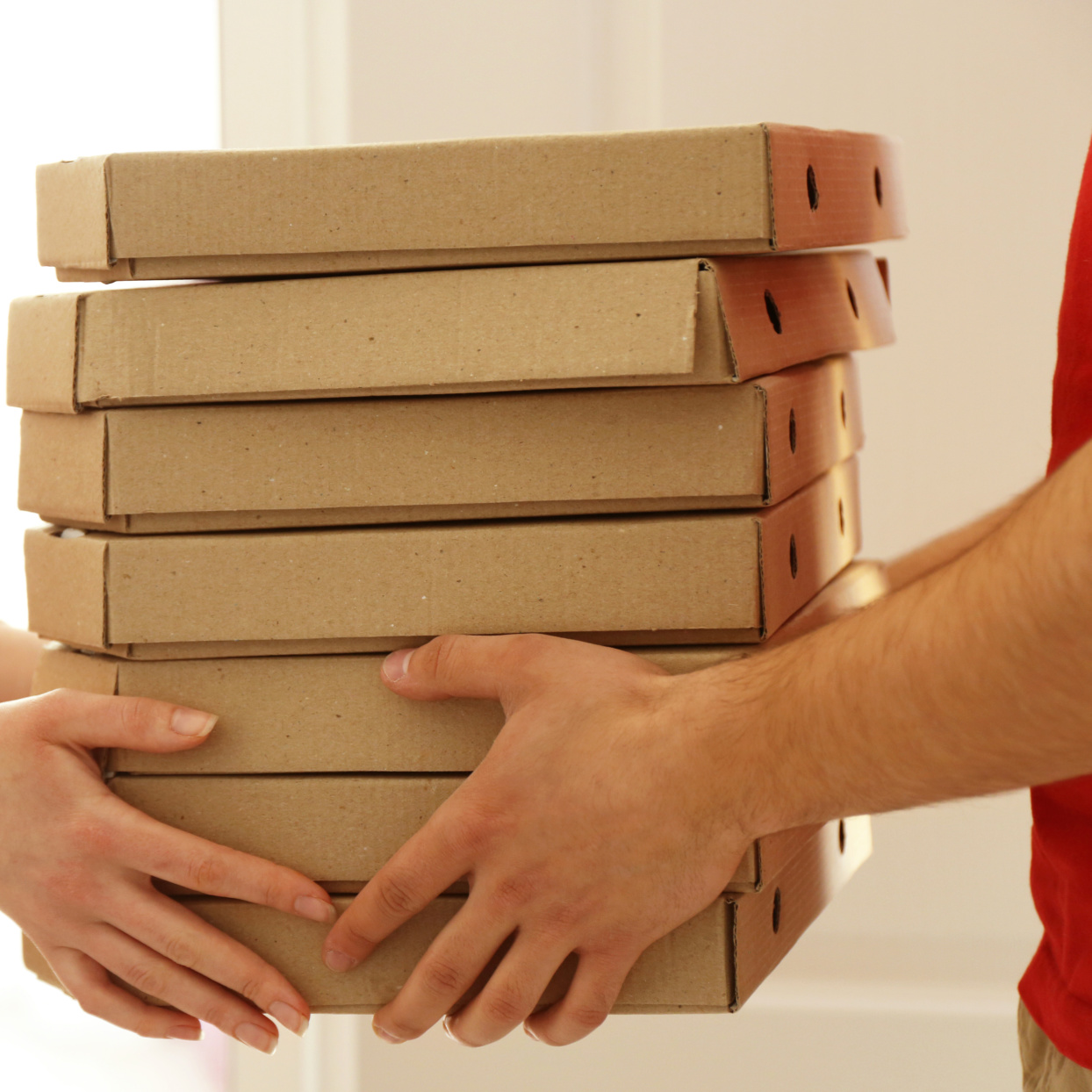 Survey Reveals 1 In 4 Delivery Drivers Admit to Tasting Customers' Food Before It's Delivered