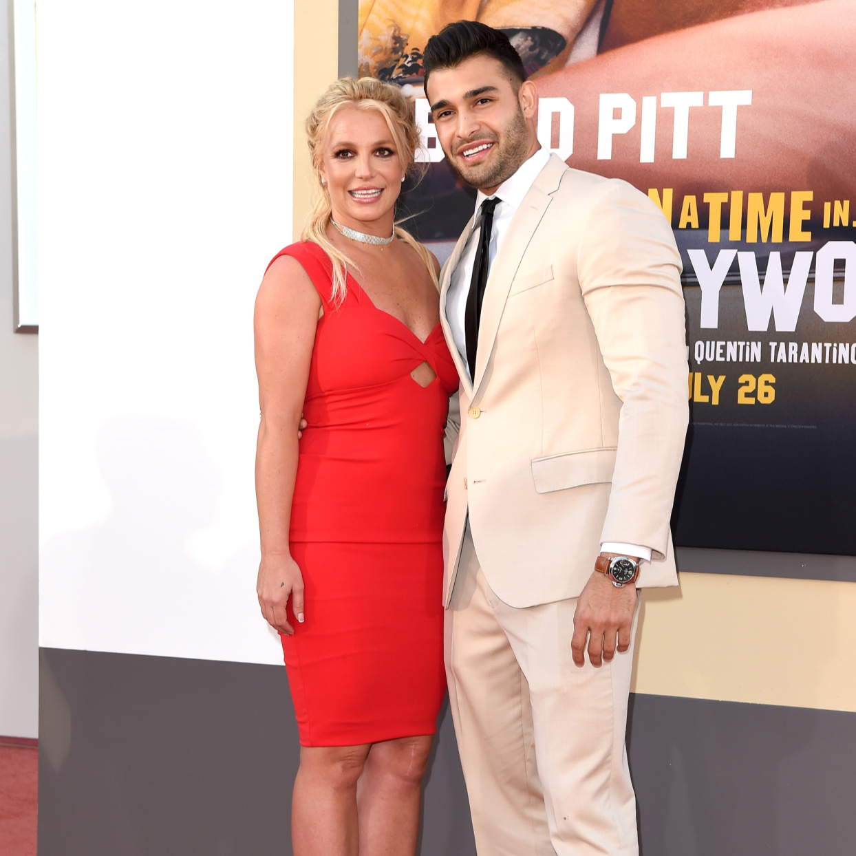 Sam Asghari Says Girlfriend Britney Spears Is His Fitness Inspiration