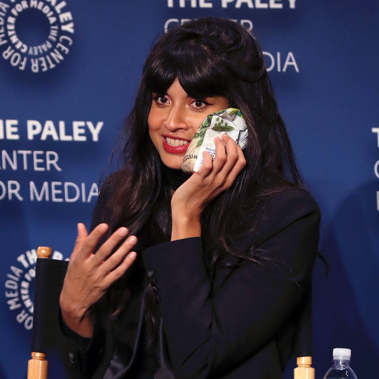 Jameela Jamil Had 3 Teeth Removed and Oral Surgery—and Still Went to Work