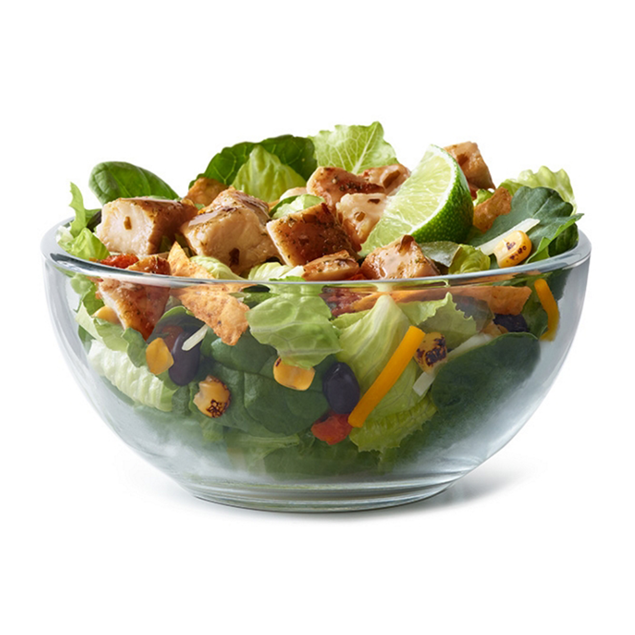 McDonald's grilled chicken salad