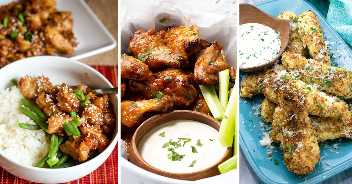 Healthy Air Fryer Chicken Recipes (That Aren't All Chicken Wings)