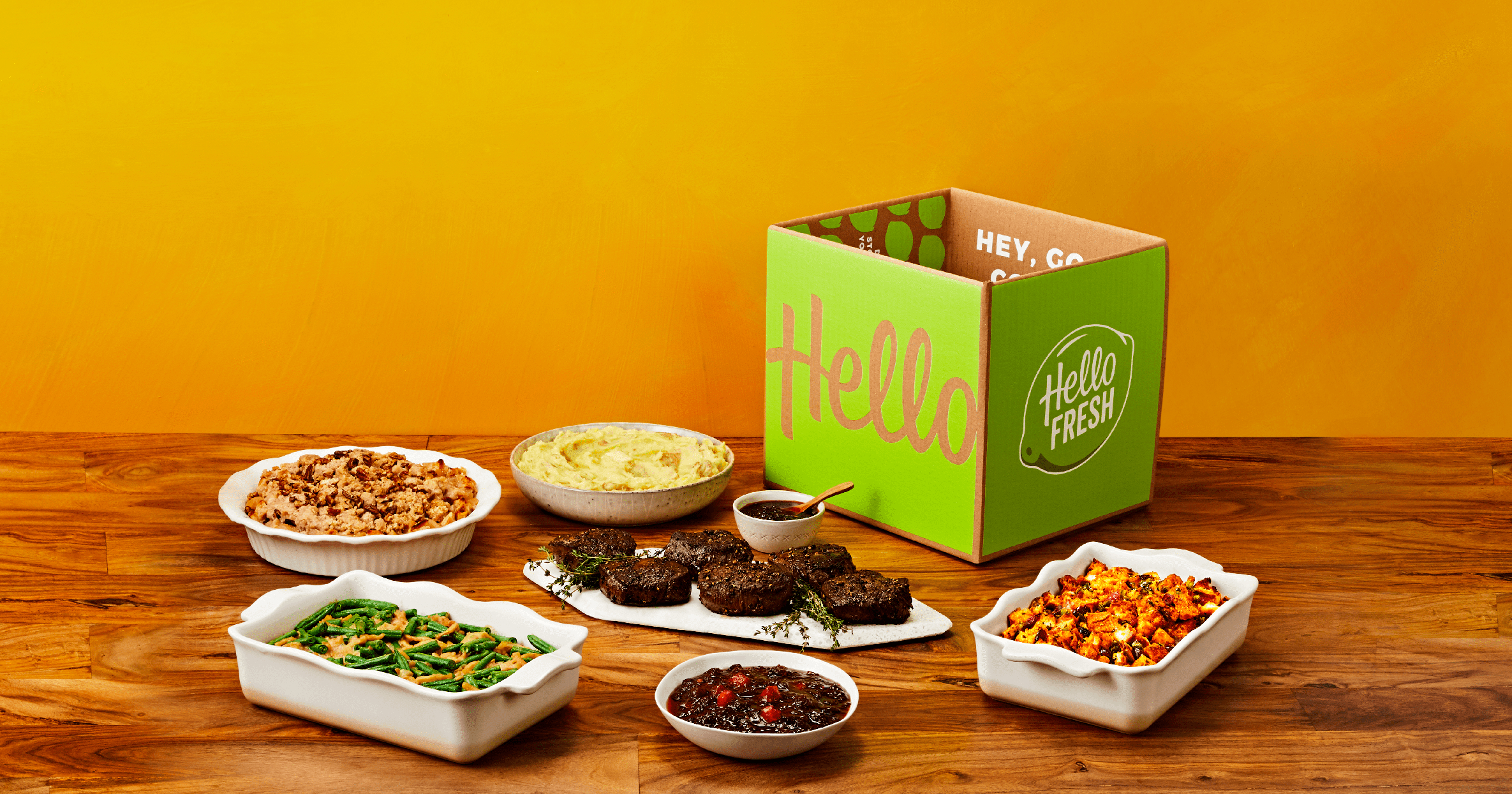 HelloFresh and Jessica Alba Teamed Up to Create a Thanksgiving Dinner Box