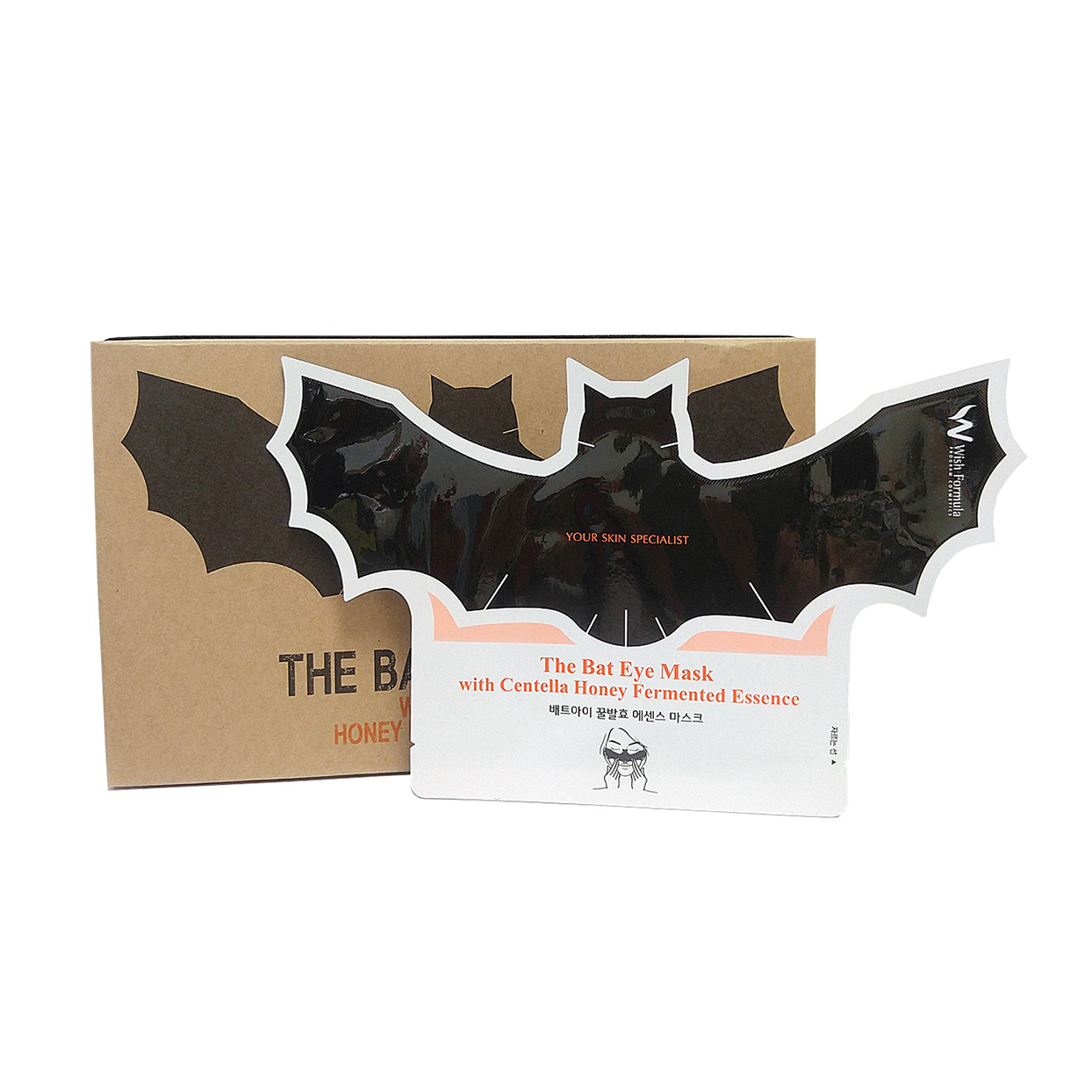 This Bat-Shaped Eye Mask Is Here to Scare Away Your Dark Circles