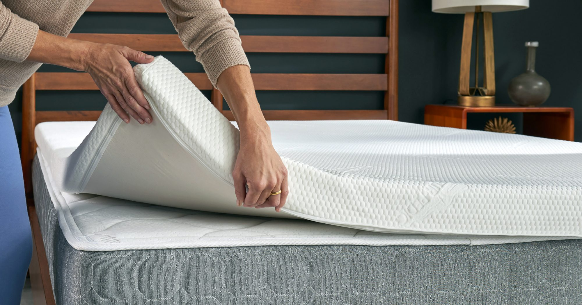 The Best Memory Foam Mattress Toppers for Your Most Comfortable Night's  Rest | Shape