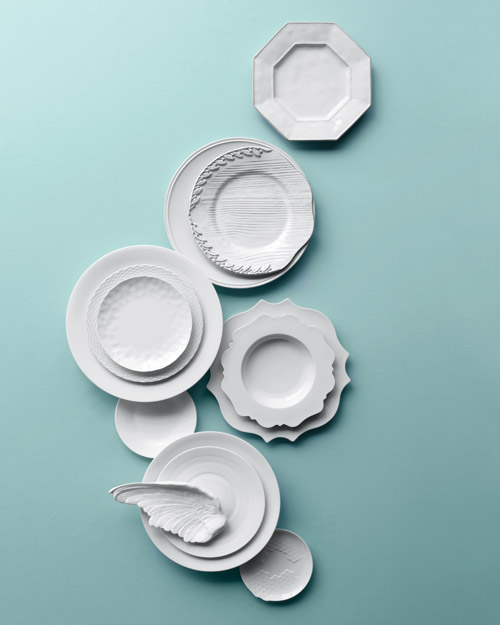 7 White China Picks Distinguished by Texture, Texture, Texture