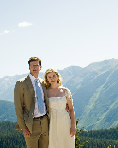 Alexis and Stephen's Laid-Back Rehearsal Dinner in Aspen, Colorado