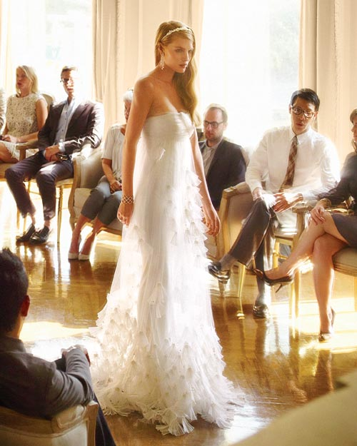 More Couture Wedding Fashion from Center Stage