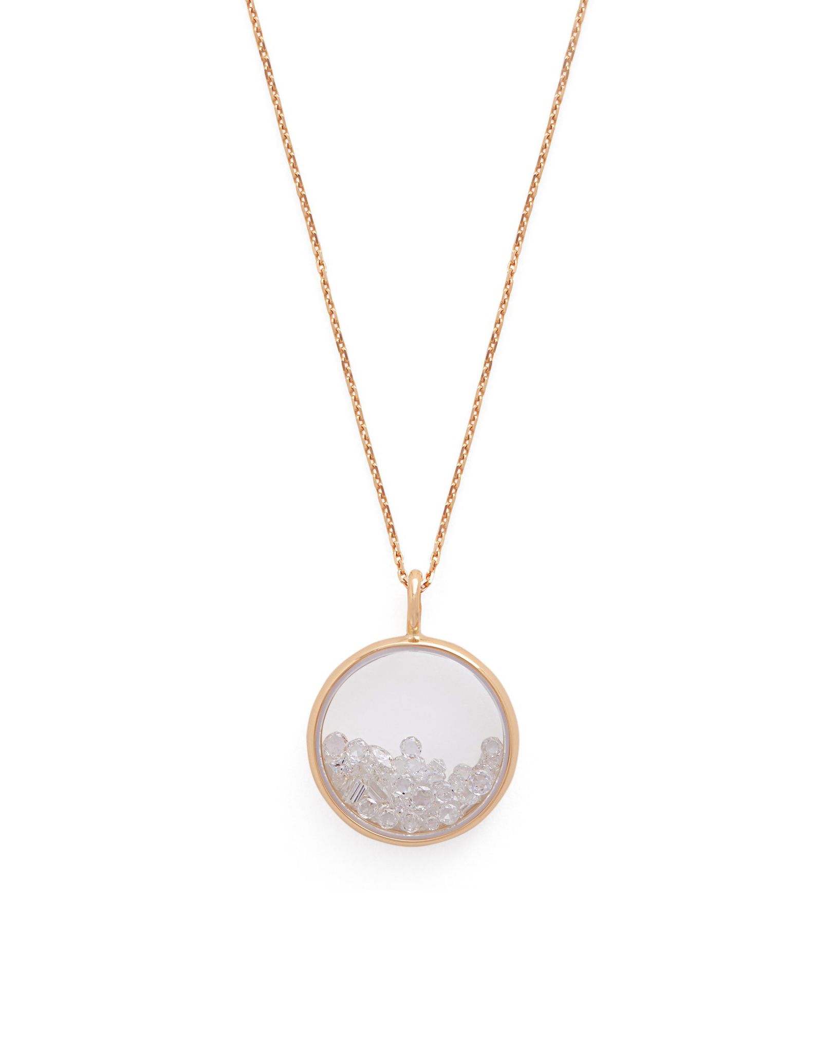 18kt yellow-gold Chivor necklace