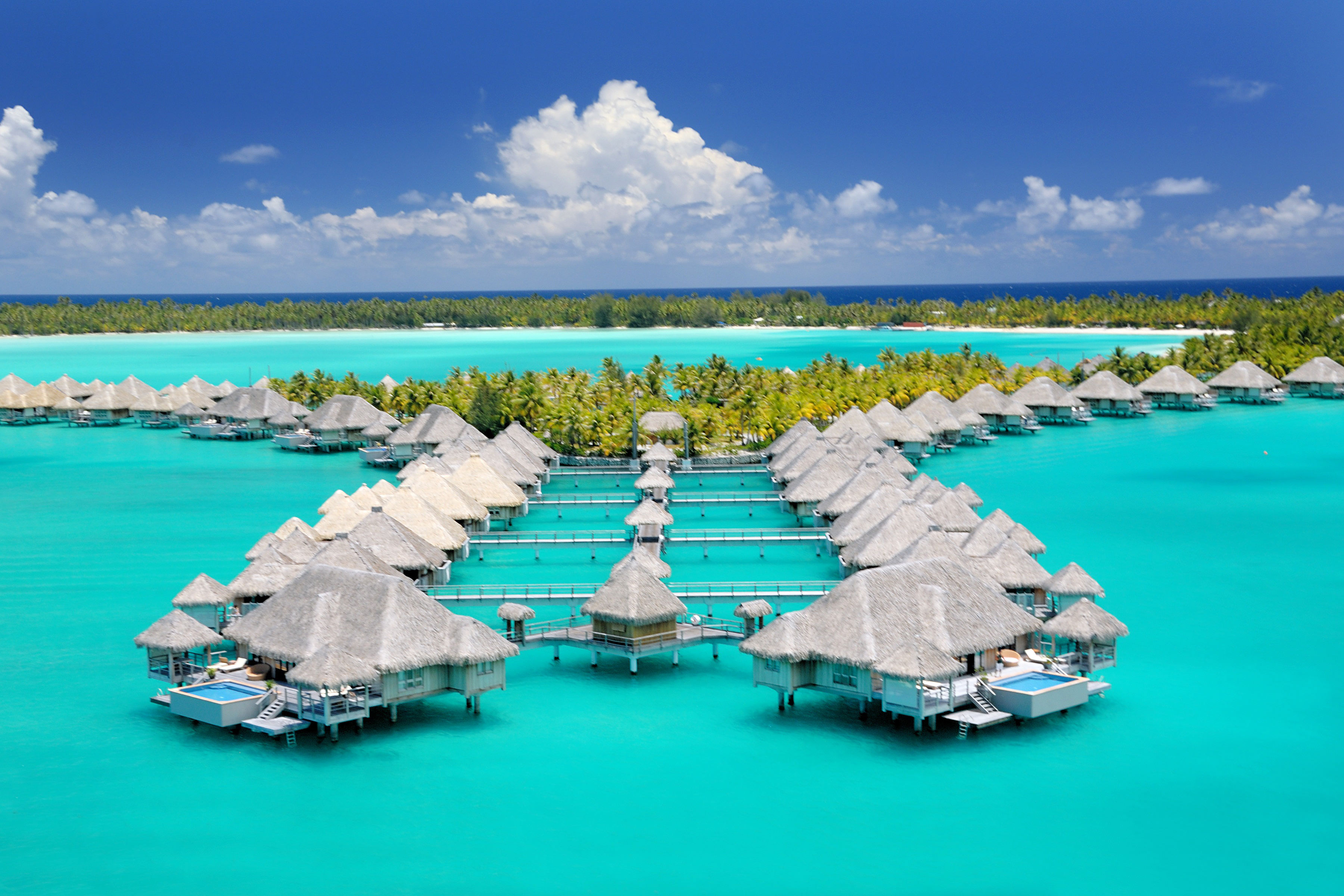best beach honeymoons st regis bora bora