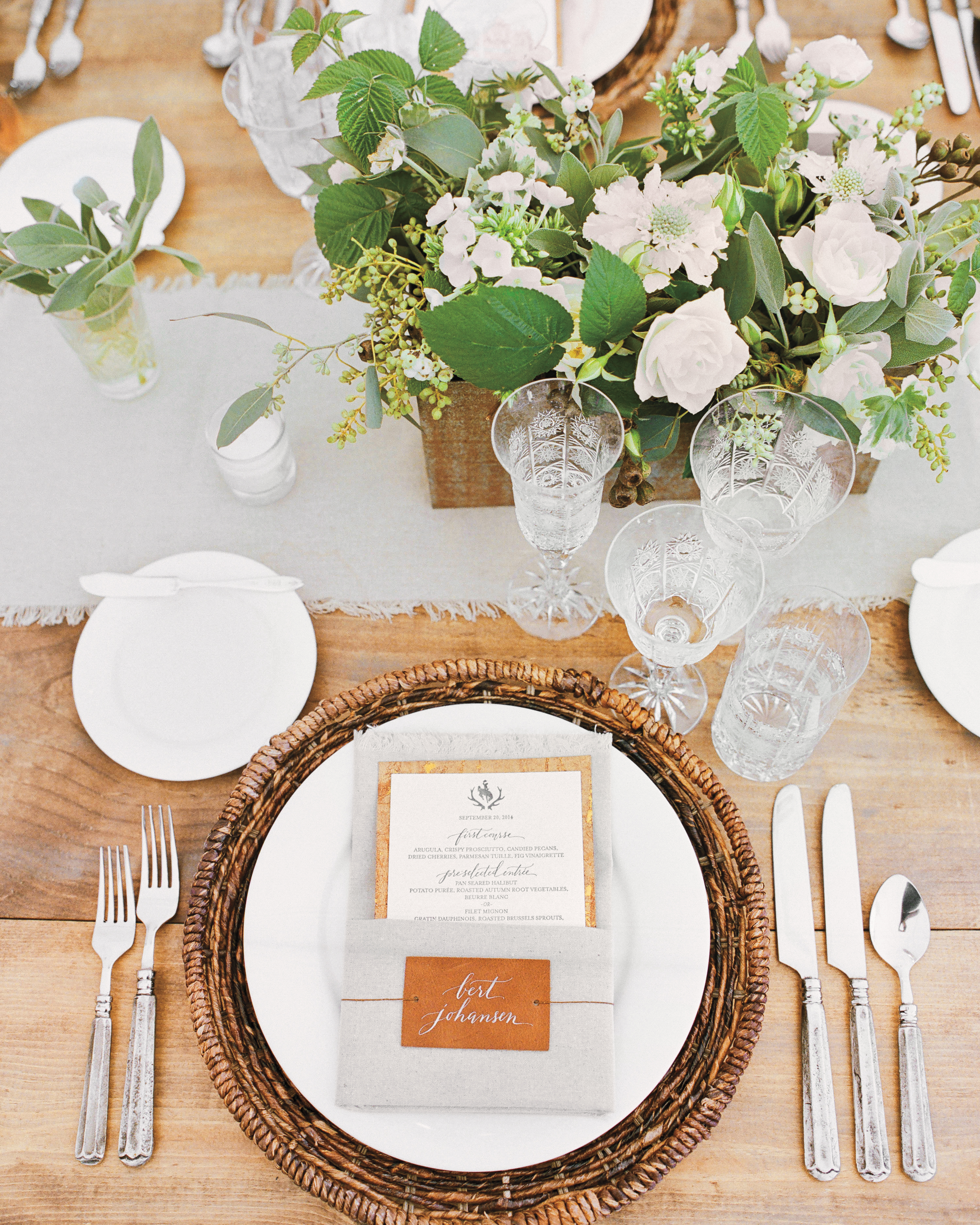 Rustic Chic Tables