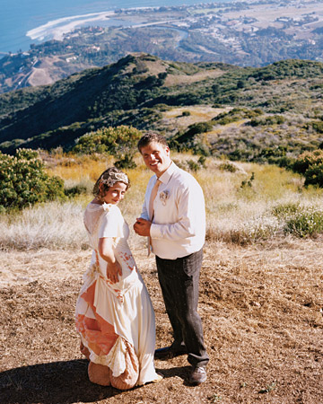 A Casual Outdoor DIY Wedding in California