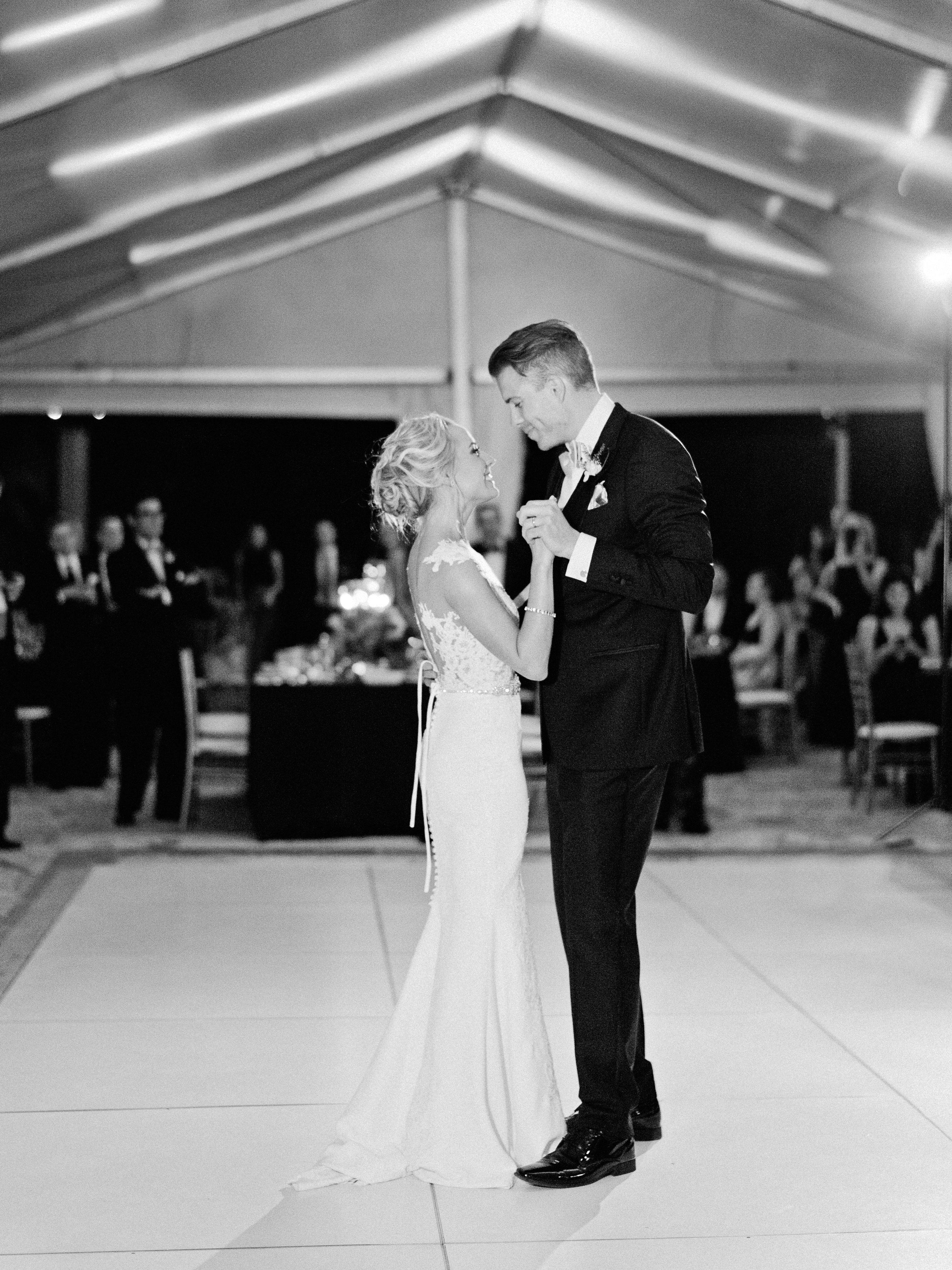 brette patrick wedding first dance