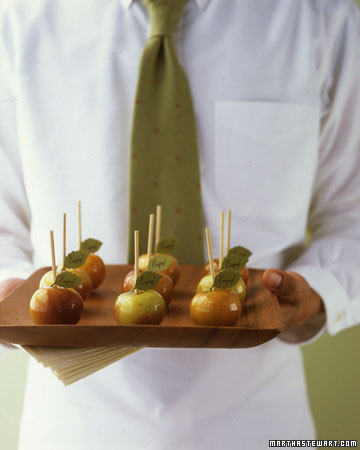 Mini Candied Apples