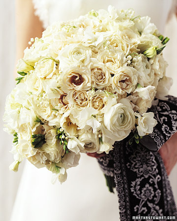 Formal White Bouquet