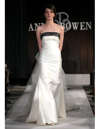 Wedding Dresses with Black Accents from Spring 2012 Bridal Fashion Week
