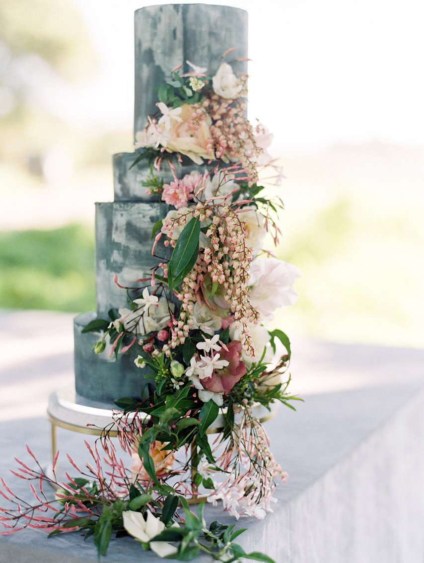 marbled cake floral