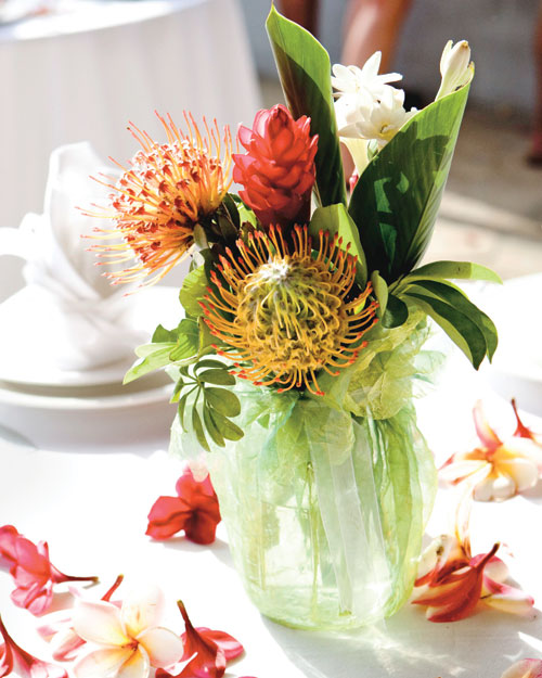 Exotic Blooms Centerpiece