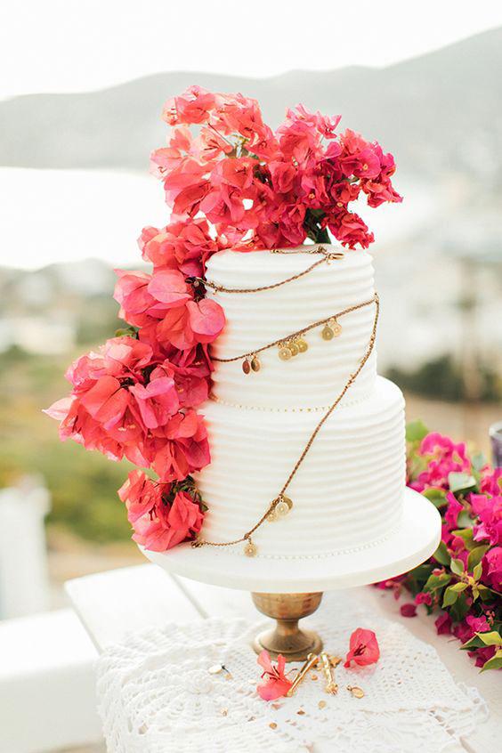 floral wedding cakes anna roussos mountain