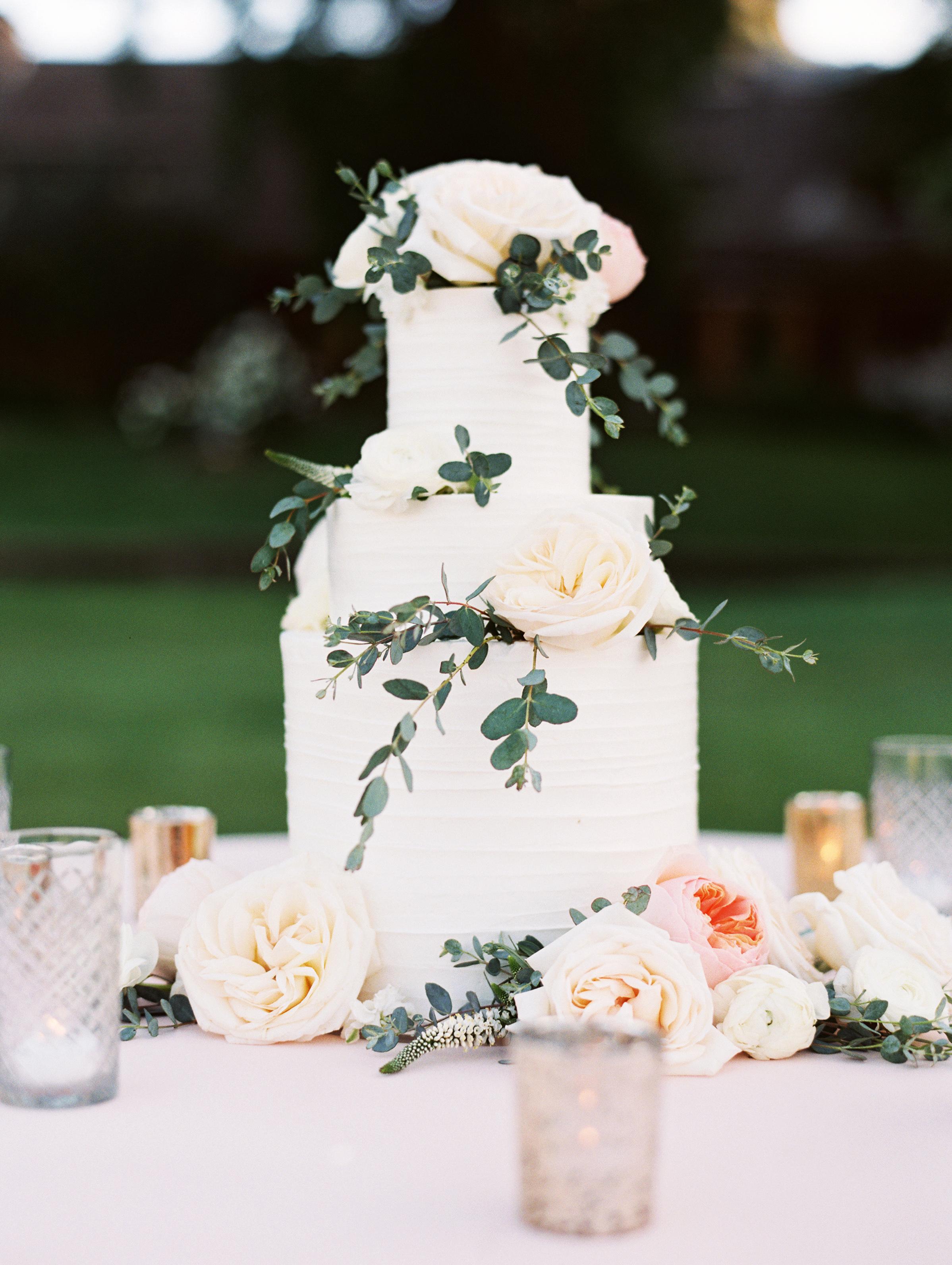floral wedding cakes esther sun outdoor garden rose