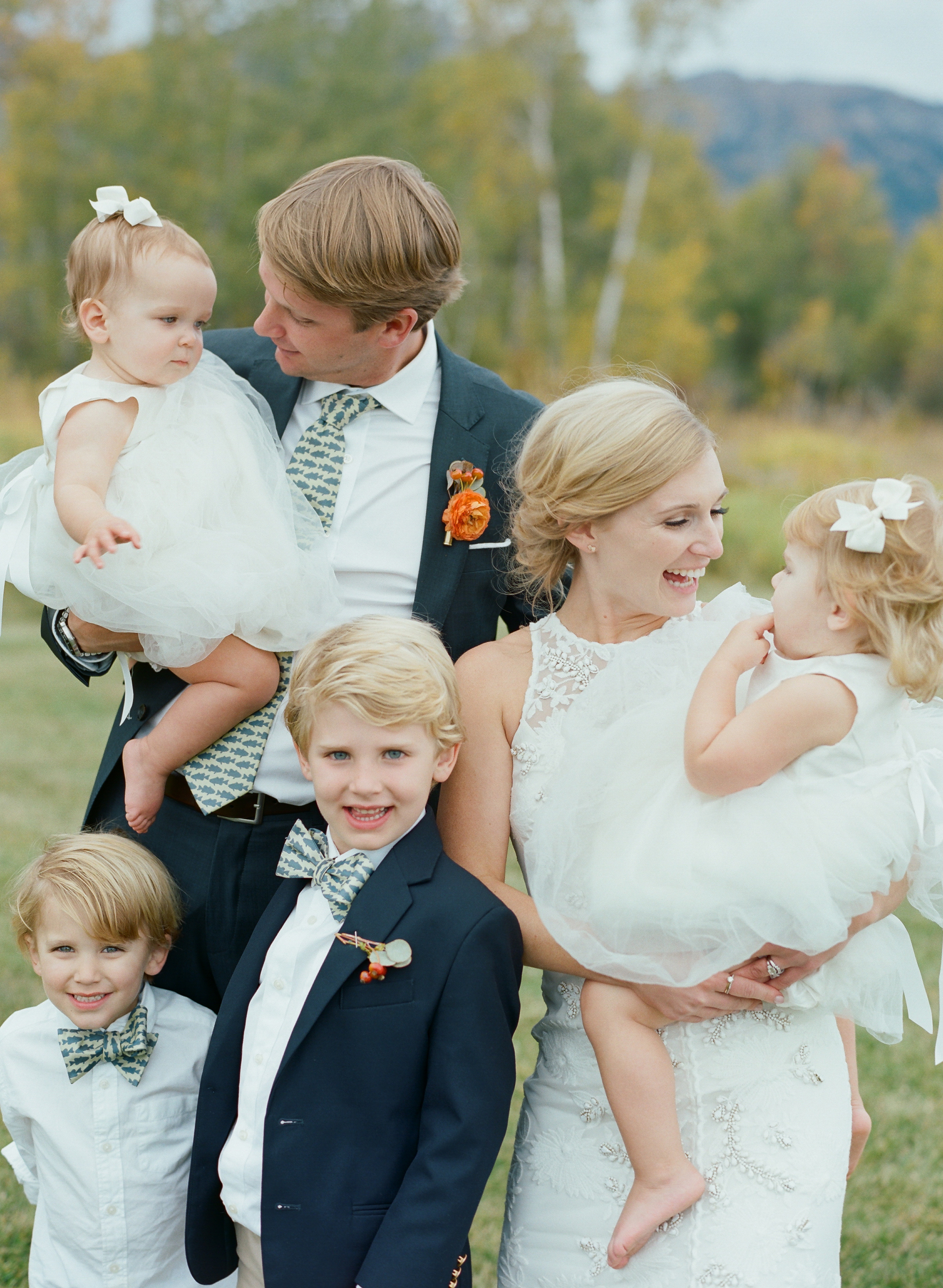 The Etiquette of Having Children at Your Wedding