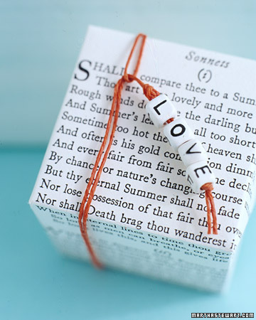 Love Poetry Favor Box