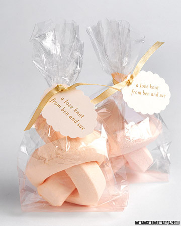 Marshmallow Favors