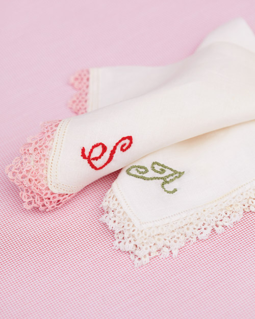Personalized Handkerchief How-To