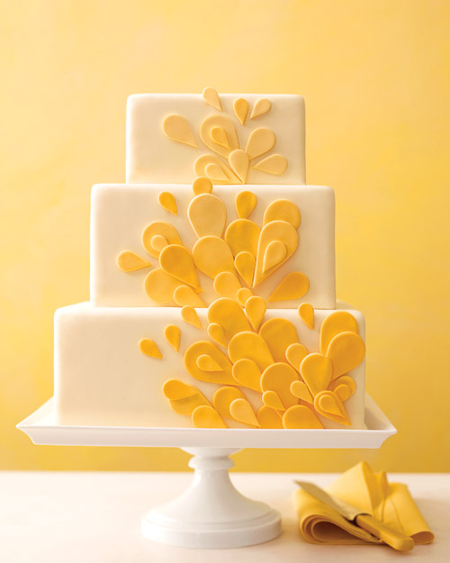 Teardrop Wedding Cake