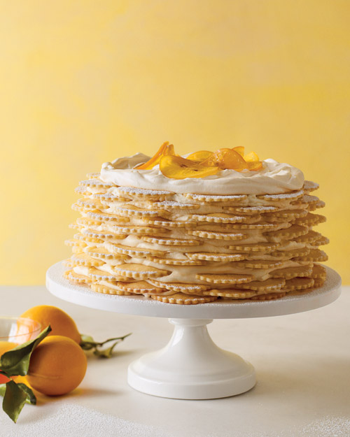Lemon Icebox Wedding Cake
