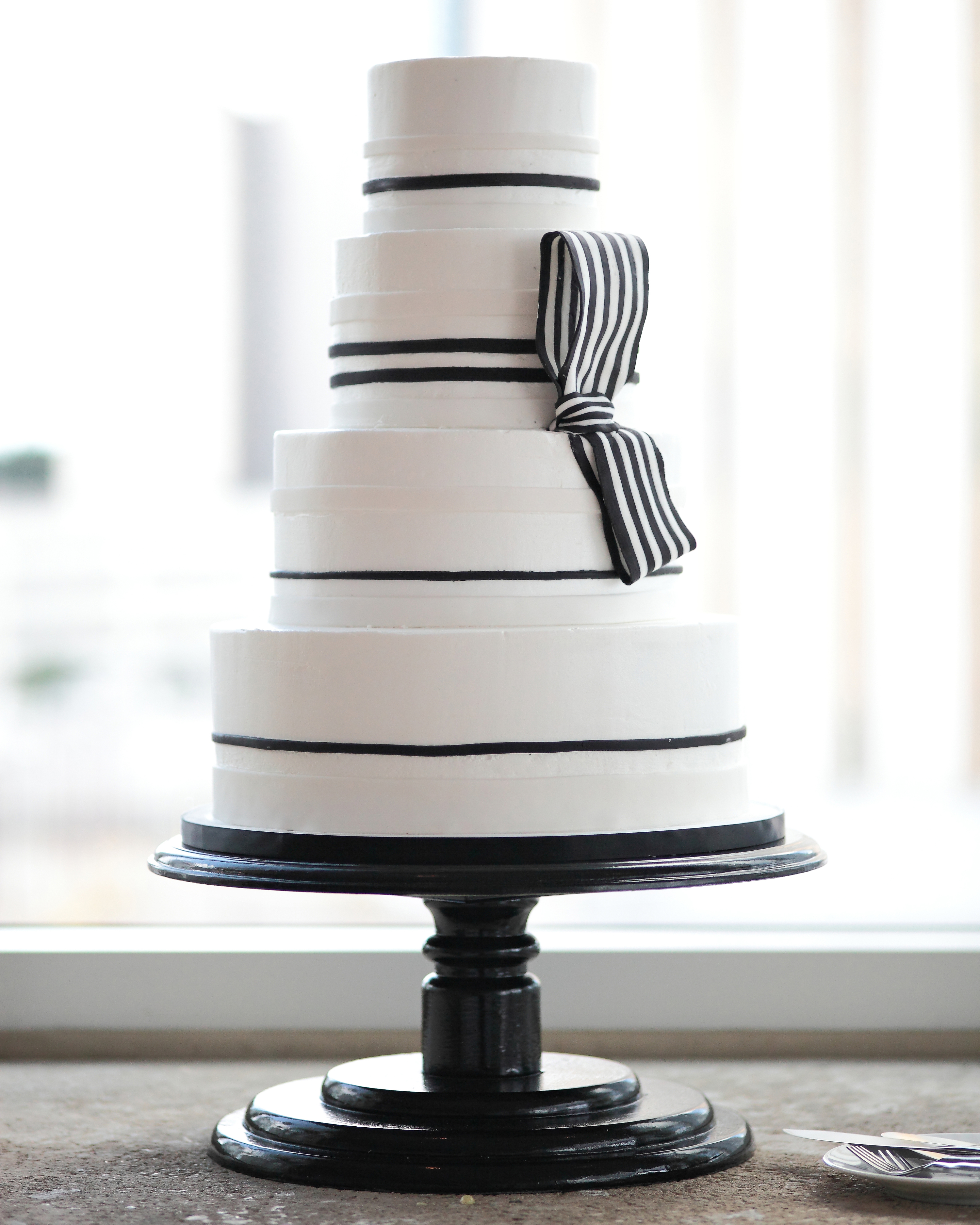 A Banded Cake