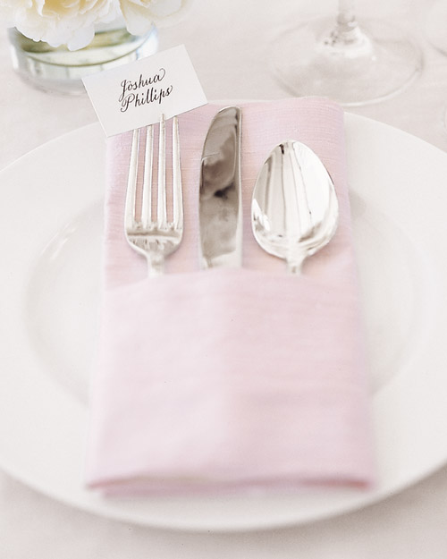 Napkin Place Card