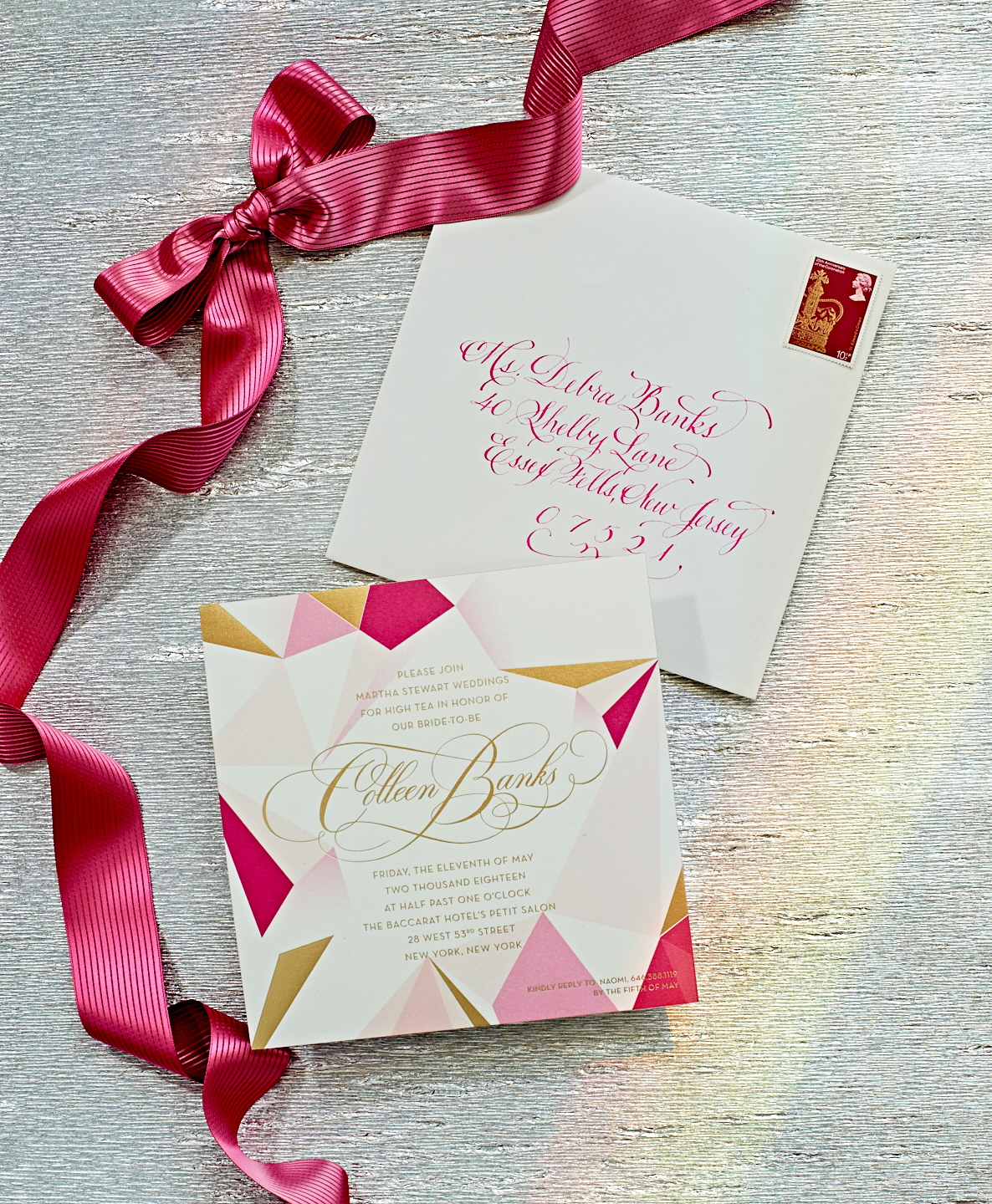 colleen jewel bridal shower invite