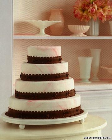 Old-Time Favorites: Marble Wedding Cake