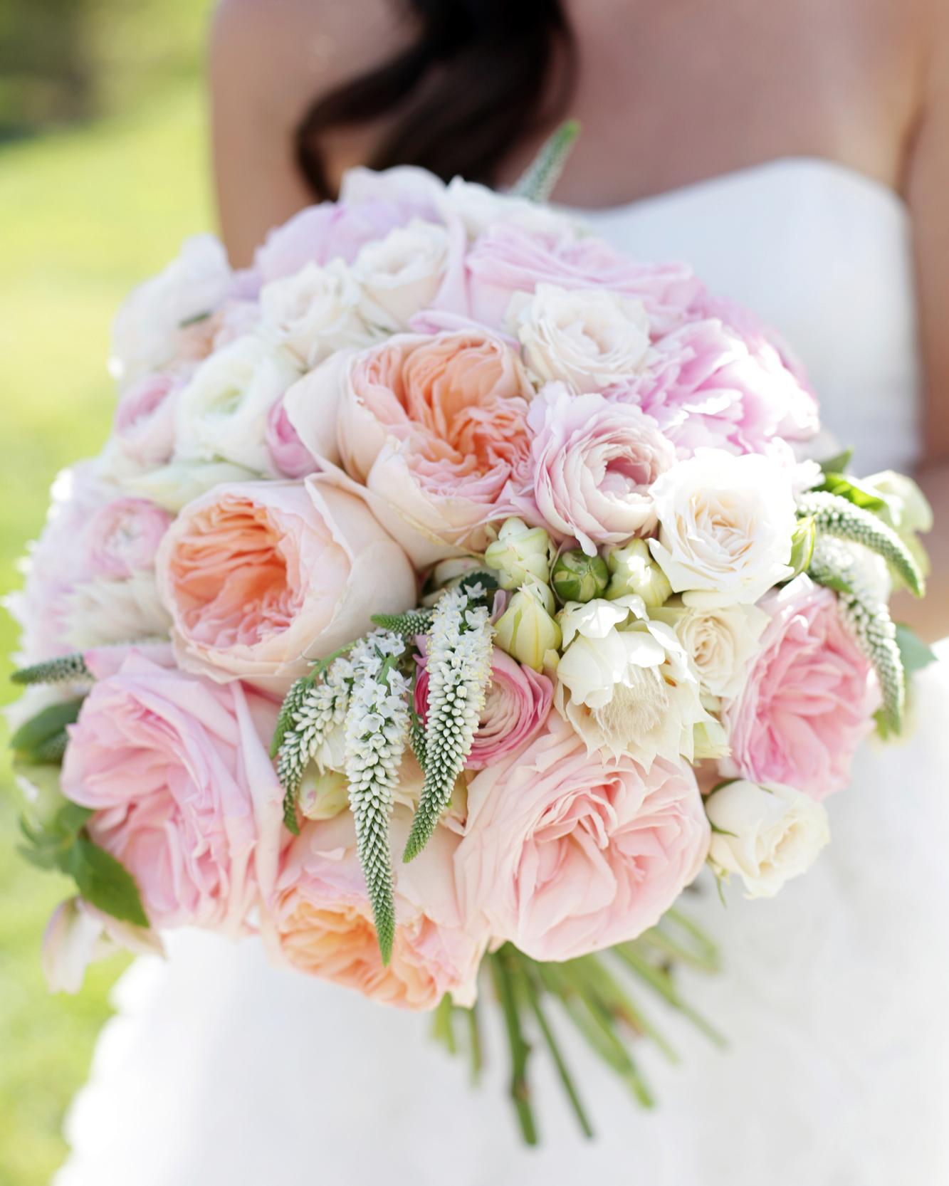 Our Favorite Rose Wedding Bouquets Martha Stewart Weddings