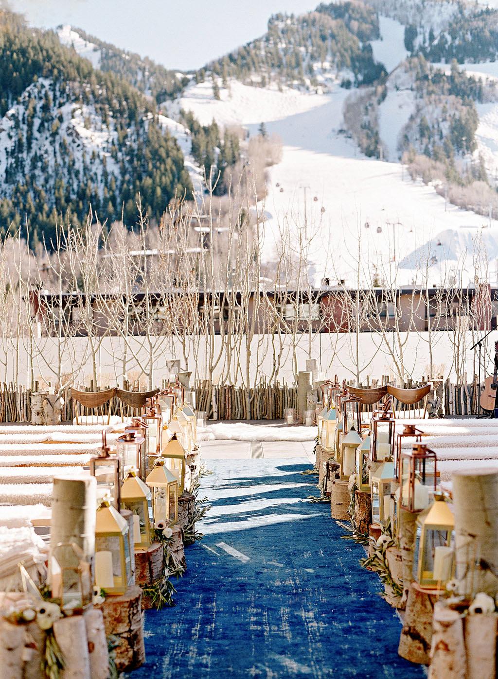 ceremony site colorado snow mountain