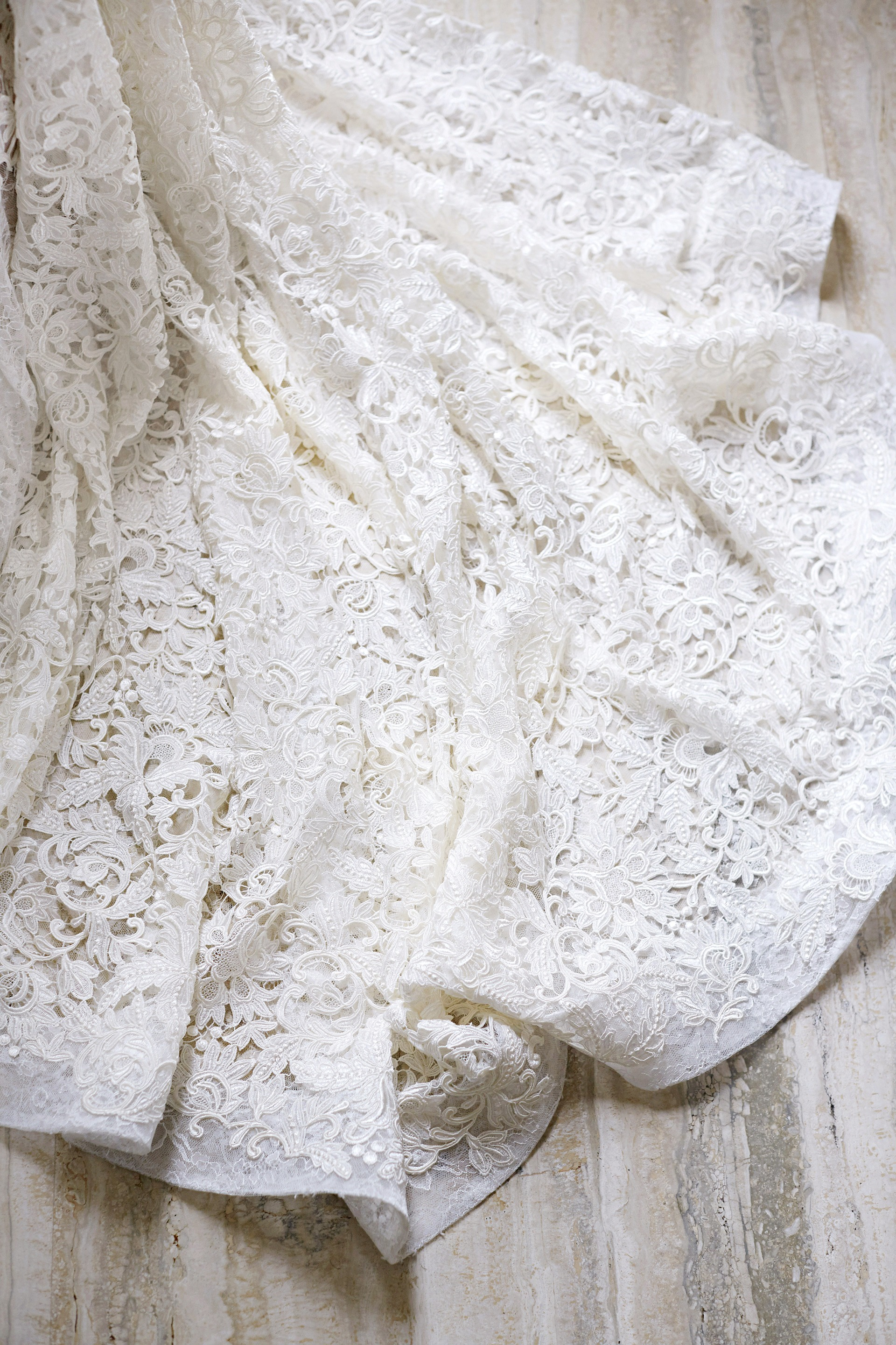 joyann jeremy wedding dress detail