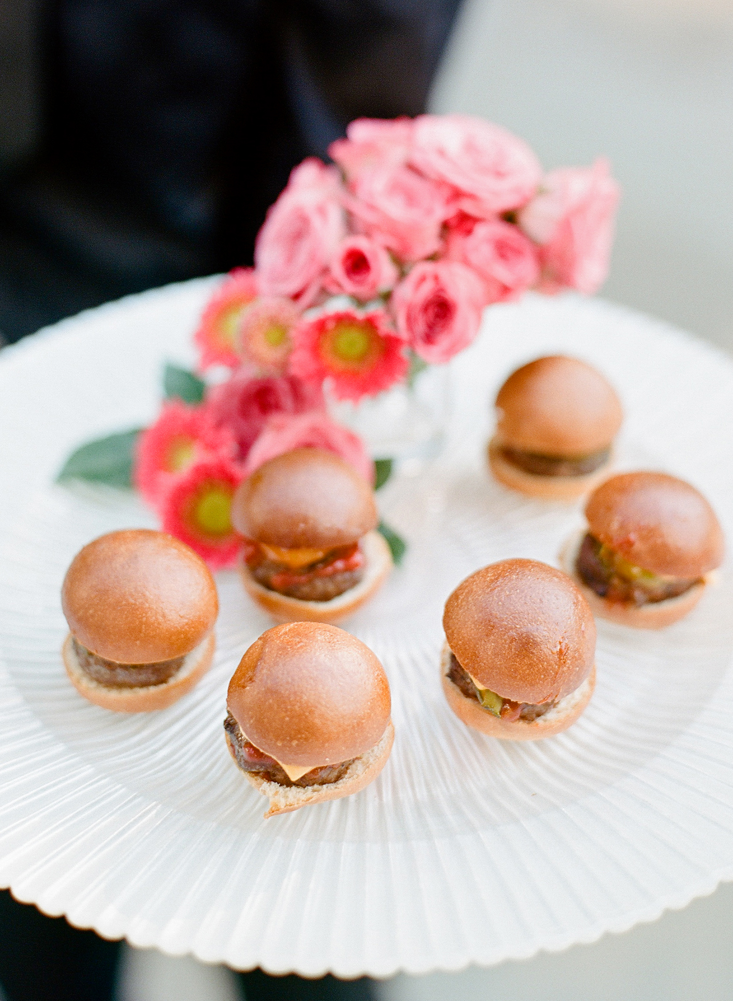 melissa michael wedding appetizer sliders