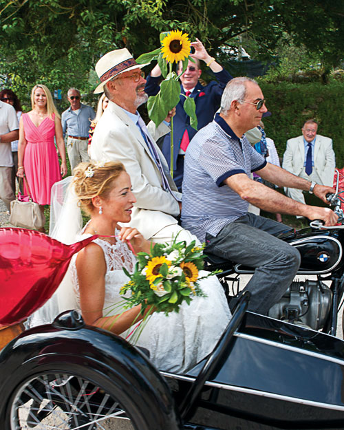 The Bride's Arrival