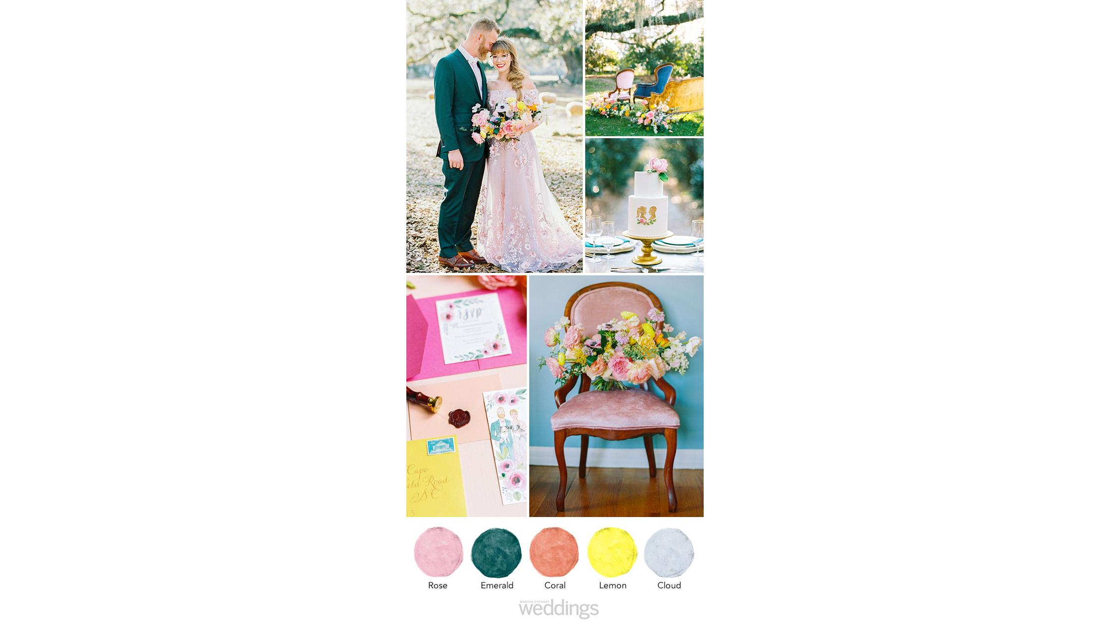 jewel tones wedding color palette ideas