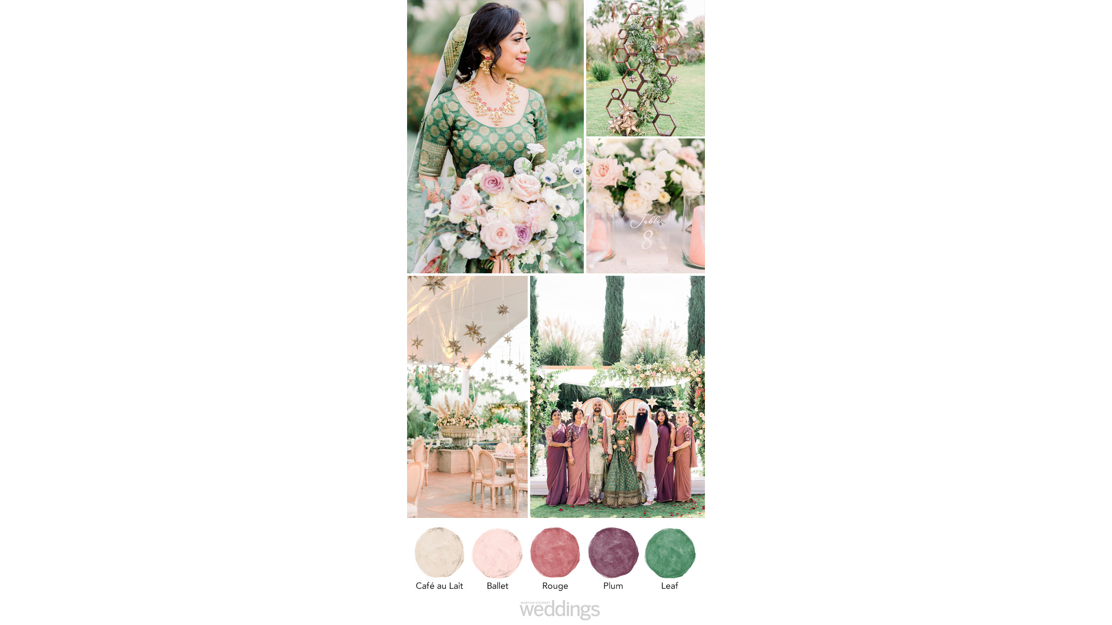 nature inspired wedding color palette ideas