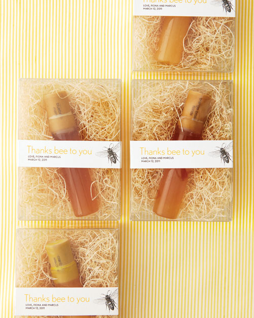 Honey Favors Label How-To