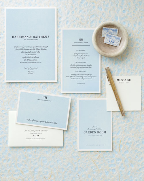 Two-in-One Wedding Invitations