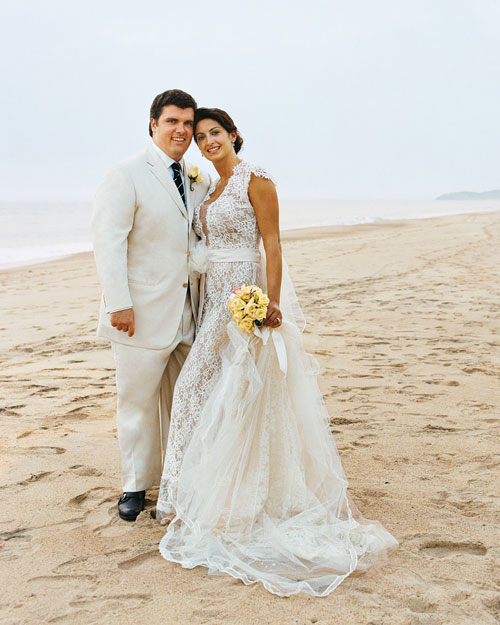 A Formal Destination Wedding on the Beach in Mexico