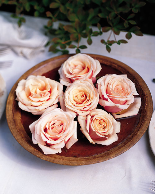 Rustic Floating Rose Centerpiece