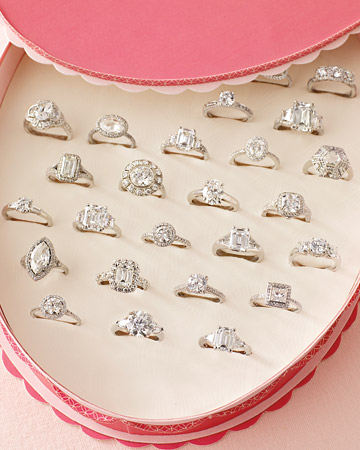 How do I care for my engagement ring?