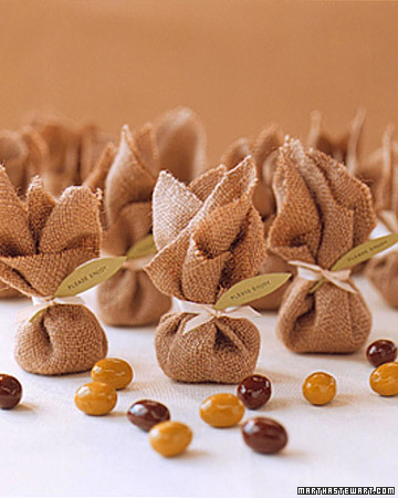 Chocolate Olive Wedding Favors